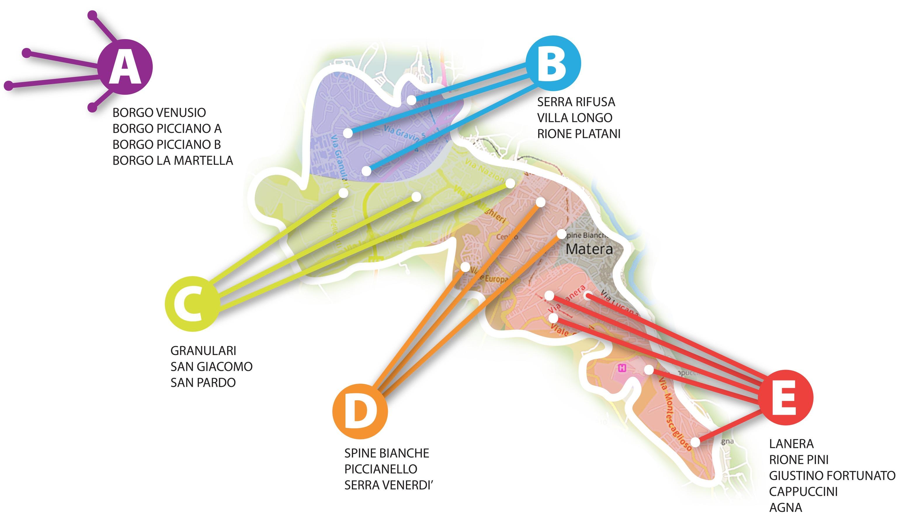cartina quartieri