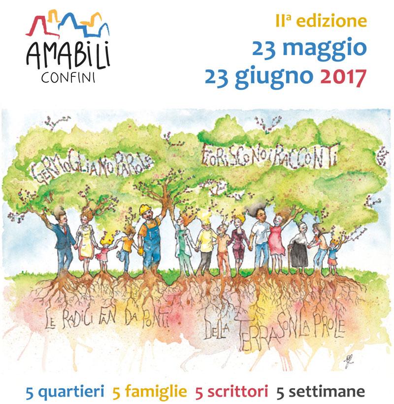 Programma completo Amabili Confini 2017