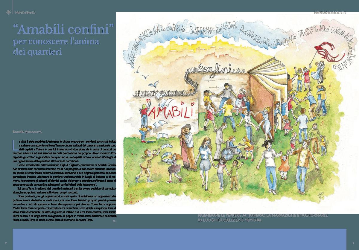 Amabili Confini sulla rivista Mondo Basilicata