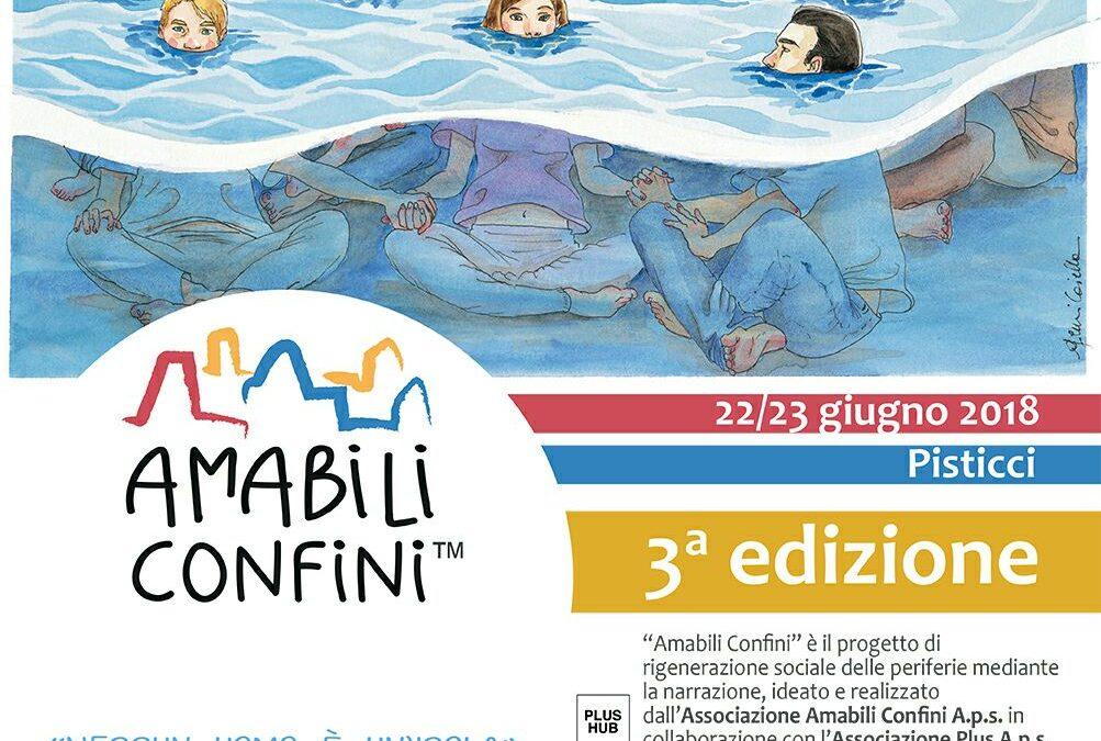Amabili Confini 2018: iscrizioni aperte fino al 15 aprile