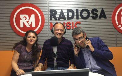 Giorgio Falco ospite di Radiosa Music