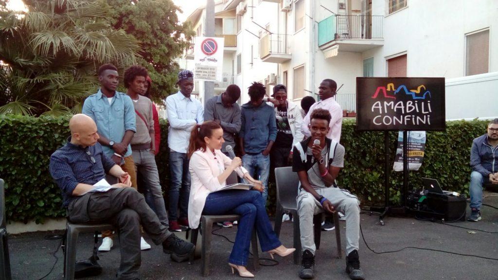I ragazzi migranti ospiti del Centro per i minori di Salandra
