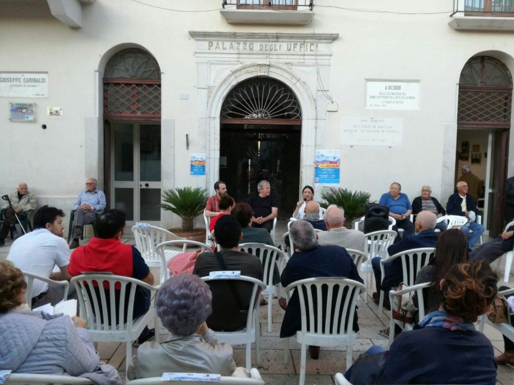 L'incontro con Voltolini nel centro storico di Pisticci.