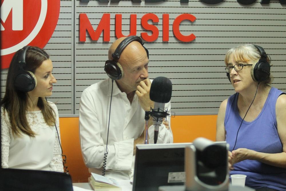 Laura Pariani ospite di Radiosa Music