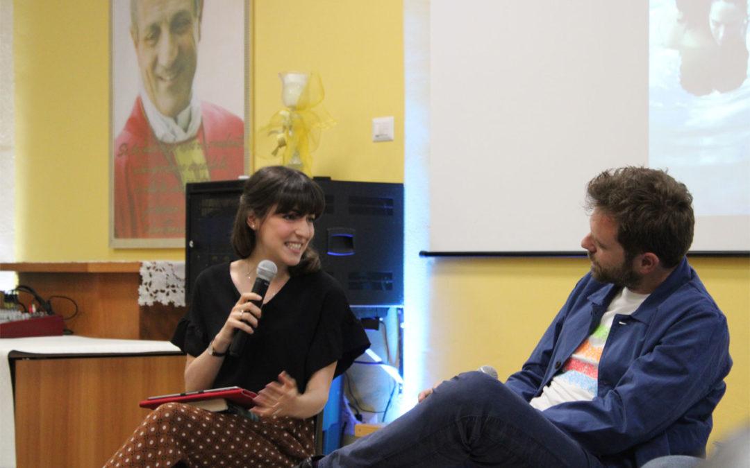Marinunzia Fanelli con Paolo Giordano