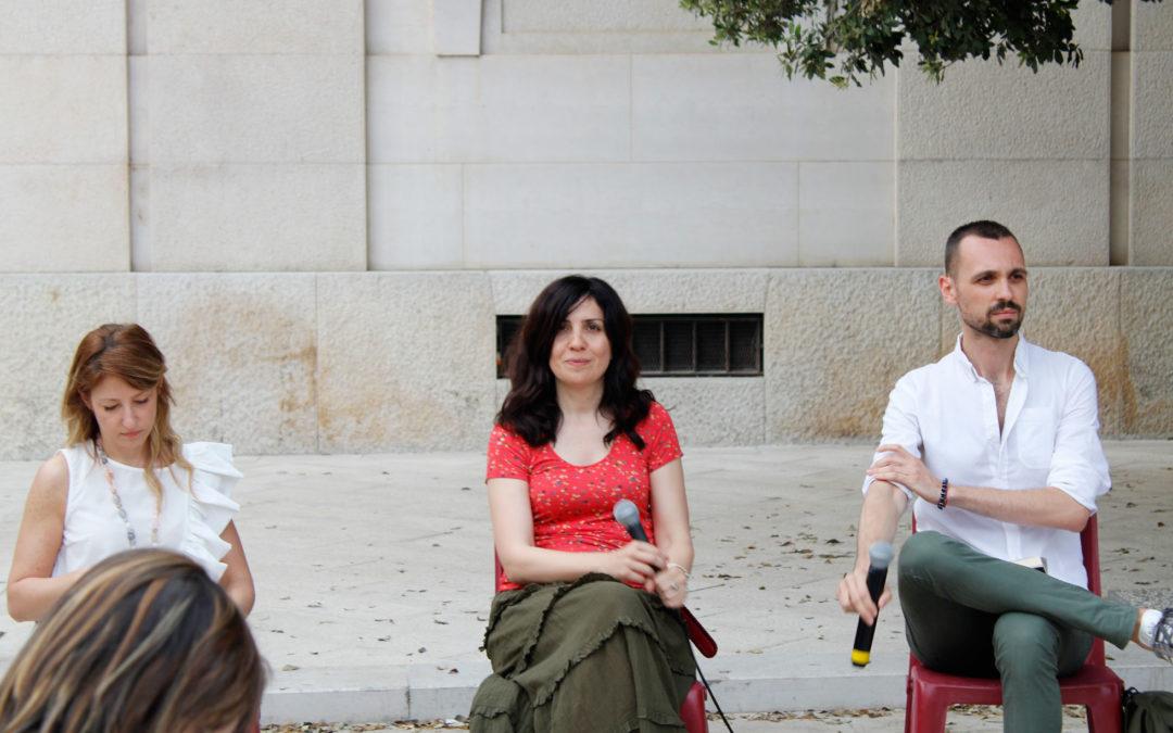 Nadia Terranova a Matera per Amabili Confini 2019