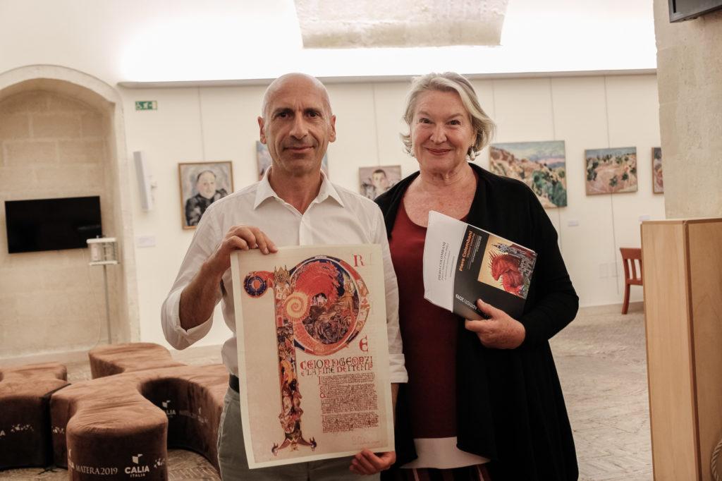 Un momento del Premio Montale Fuori di Casa, a Matera