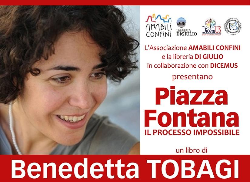 Bendetta Tobagi a Matera venerdì 21 febbraio 2020