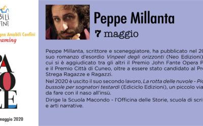 """Peppe Millanta – """"La rotta delle nuvole – Piccole bussole per sognatori testardi"""""""